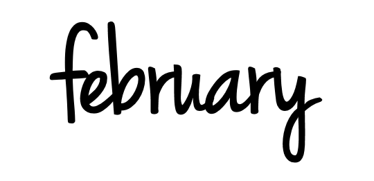 February is really the New Year,right?